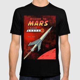 Mission To Mars Retro Pinball T-shirt