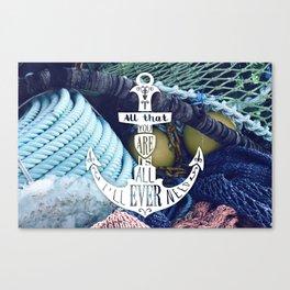 Tenerife Sea Colour Canvas Print