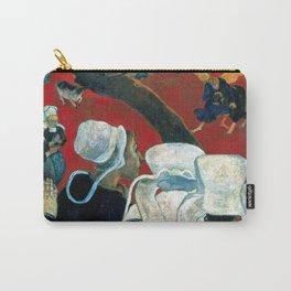 """Paul Gauguin """"La vision après le sermon (Vision After the Sermon)"""" Carry-All Pouch"""