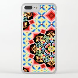 Empress Brocade Clear iPhone Case