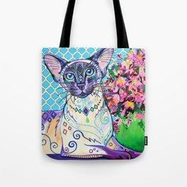 Orient - Siamese Cat Art Tote Bag