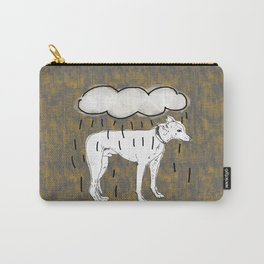 Grey hound Grey cloud Carry-All Pouch