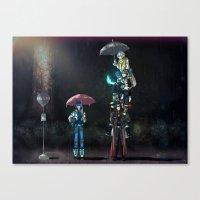 dramatical murder Canvas Prints featuring Dramatical Murder - My Neighbors... by Lalasosu2