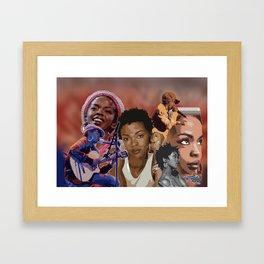 L_BOOGIE Framed Art Print