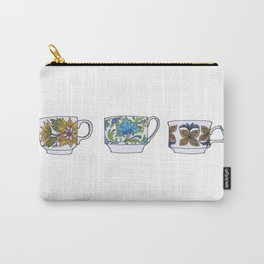 Teacups Carry-All Pouch