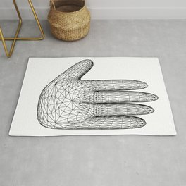 hand signs Rug