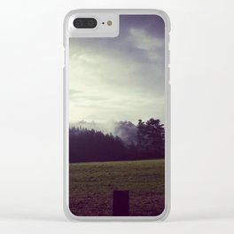 Slice of Rural New Zealand Clear iPhone Case
