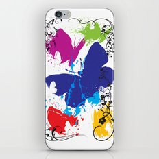Painted Butterflies iPhone & iPod Skin
