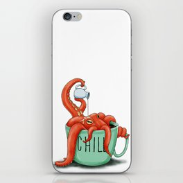 Chill Invertebrate iPhone Skin