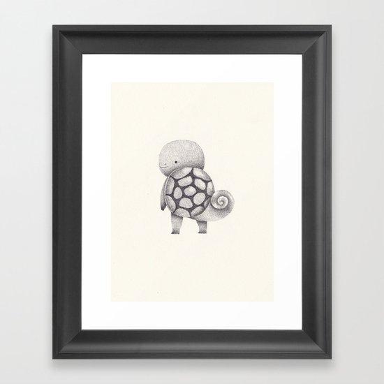 7 Framed Art Print