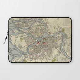 Map of St. Petersburg 1883 Laptop Sleeve