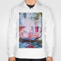 venice Hoodies featuring Venice by OLHADARCHUK