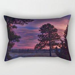 Behind The Sunset Rectangular Pillow