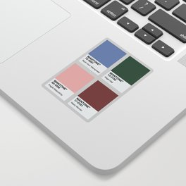 MANTONE® Colour Palette Sticker