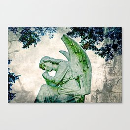 Angel's Thoughts Canvas Print