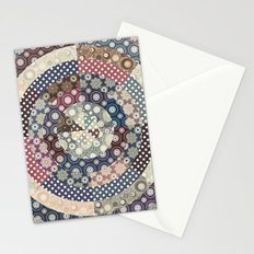 Playing with circles II Stationery Cards