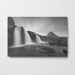 Kirkjufellsfoss Metal Print