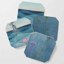 The Deep Blue Coaster