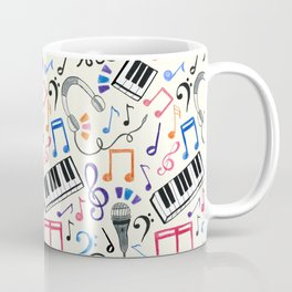 Good Beats - Music Notes & Symbols Coffee Mug