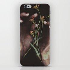 DELICATE HANDS iPhone & iPod Skin