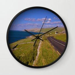 Wild Atlantic Way Wall Clock