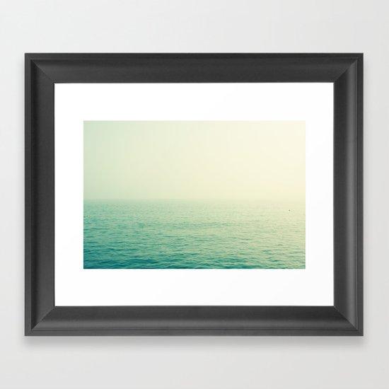 English Channel Framed Art Print