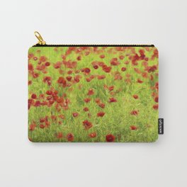 Poppyflower IV Carry-All Pouch