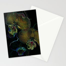Alien Orchids / Golden Orchids Stationery Cards