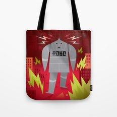 Robo! Destroy! Tote Bag