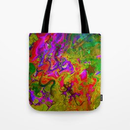 Rainbow Snakes Tote Bag