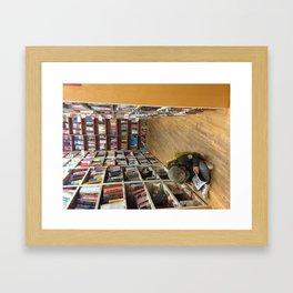Strand Bookstore Framed Art Print