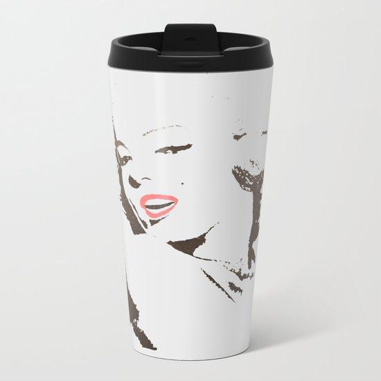 It's Marilyn Metal Travel Mug