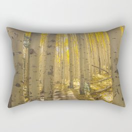 Good Vibes in The Forest Rectangular Pillow