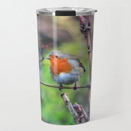 Garden Robin Travel Mug