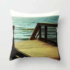 Seaside Dreaming Throw Pillow