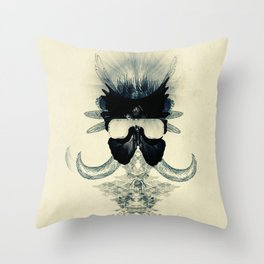 A black angel from Aksoum Throw Pillow
