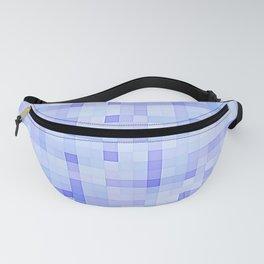 Blue Periwinkle Pixels Fanny Pack