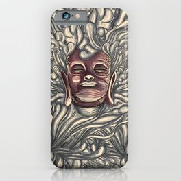 Buddha Bath iPhone Case