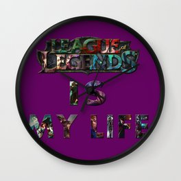 League of legends Wall Clock