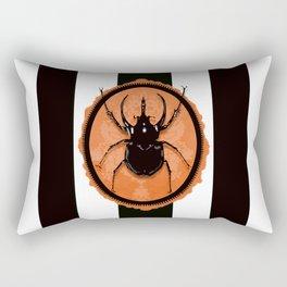 Juicy Beetle - Halloween Rectangular Pillow