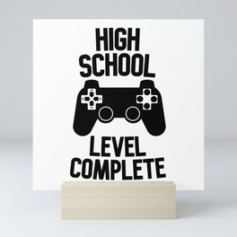 High School Level Complete Mini Art Print