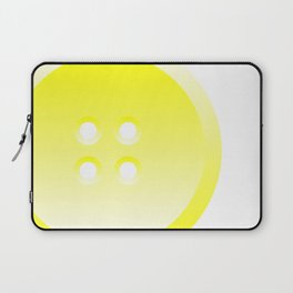 Button (from Design Machine archives) Laptop Sleeve
