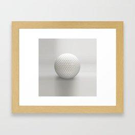 Novelty Golf Ball Framed Art Print
