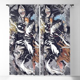 anime bleach 2 Blackout Curtain