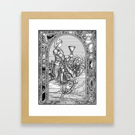Knight of Cups Framed Art Print