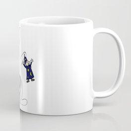 Rabbit and magician Coffee Mug