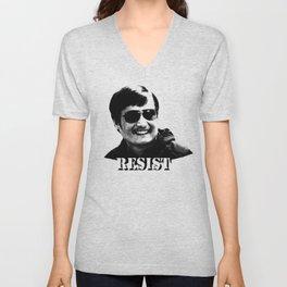 Chen Guangcheng RESIST  Unisex V-Neck