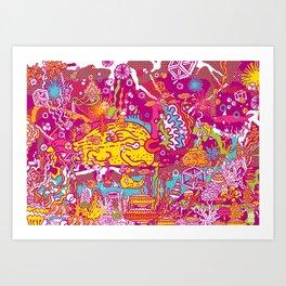 Giant Mudskipper Art Print