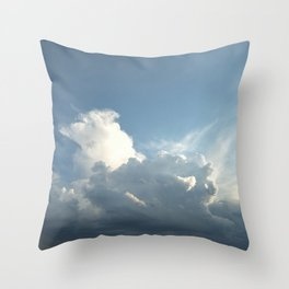 Looking Up Throw Pillow