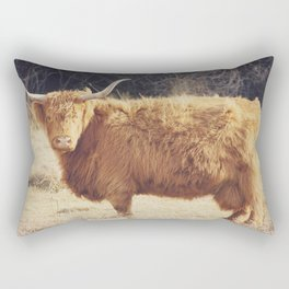 Scottish Highland Rectangular Pillow